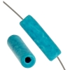 Ceramic Bead Cylinder 17x5mm Turquoise